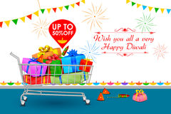 Happy Diwali holiday offer Stock Images