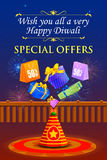 Happy Diwali holiday offer Royalty Free Stock Photography