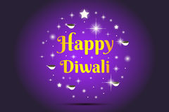 Happy Diwali illustration Stock Images
