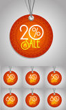 Happy  Diwali  label Royalty Free Stock Photography