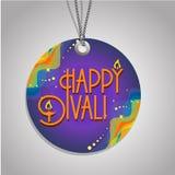 Happy  Diwali  label Stock Images