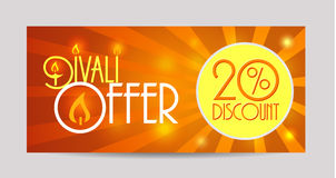 Happy  Diwali  labels Royalty Free Stock Images