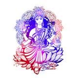 Happy Diwali Lakshmi. Lakshmi is a Hindu and Vaishnava Goddess, Vishnu`s wife is a symbol of Diwali, a light festival of India