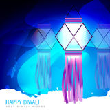 Happy diwali lamp Stock Photos