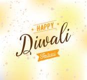 Happy Diwali typography Stock Photo