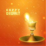 Happy Diwali Vector Design Royalty Free Stock Images