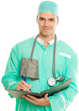 Happy doctor Stock Photography