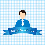 Happy Doctor day Royalty Free Stock Photography