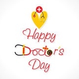 Happy doctor day design Royalty Free Stock Photos