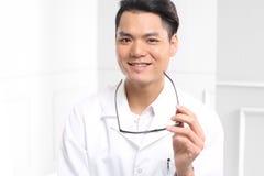 Happy doctor Stock Image