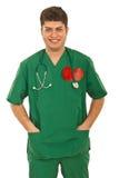 Happy doctor man Stock Image