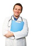 Happy doctor portrait Stock Photo