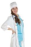 Happy doctor portrait Stock Image