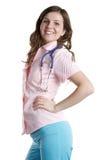 Happy doctor portrait Stock Photography