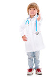 Happy doctor with thumbs up Stock Images