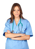 Happy doctor woman Stock Photography