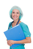 Happy doctor woman Stock Image