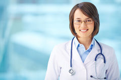 Happy doctor Royalty Free Stock Images
