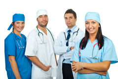Happy doctors  team Stock Photos