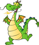 Happy Dragon Cartoon Character Stock Photo