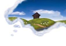 Happy dream Stock Images