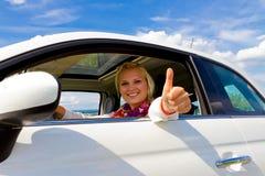 Happy driver Stock Photos