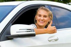 Happy driver Royalty Free Stock Photos