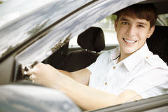 Happy driving Stock Photo