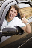 Happy driving Royalty Free Stock Image