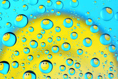 Happy drops Stock Photography