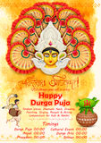 Happy Durga Puja background Stock Photography