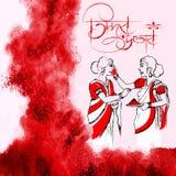 Happy Durga Puja background Royalty Free Stock Photos