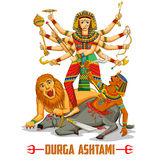 Happy Durga Puja background Stock Images