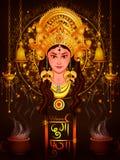 Happy Durga Puja India festival holiday background Royalty Free Stock Image
