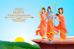 Happy Dussehra Royalty Free Stock Images