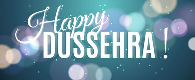 Happy Dussehra background, hanging banner for festival Royalty Free Stock Image