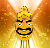 Happy Dussehra concept colorful background Stock Image