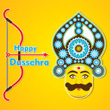 Happy dussehra festival celebrate Stock Image