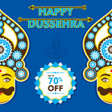 Happy dussehra festival celebrate Royalty Free Stock Photo
