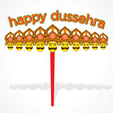 Happy dussehra festival celebrate Stock Photography
