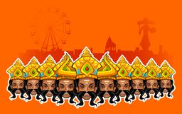 Happy Dussehra Holiday Stock Images