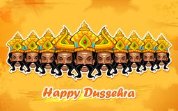 Happy Dussehra Stock Image