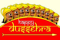 Happy Dussehra Stock Photography
