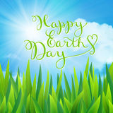 Happy earth day. 22 april,  illustration Royalty Free Stock Image