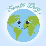 Happy Earth day cartoon design.  Stock Photos