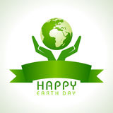 Happy Earth Day Stock Photography