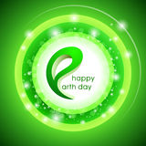 Happy Earth Day. Vector design illustration. Royalty Free Stock Image