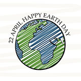 Happy Earth Day. Royalty Free Stock Photos