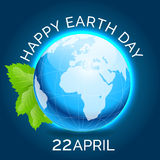 Happy Earth Day. Vector illustration for Happy Earth Day Royalty Free Stock Photography