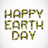 Happy Earth Day. Stock Images
